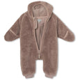 Adel Fleece Romper - Cloudy Rose
