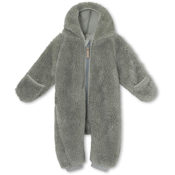 Adel Fleece Romper - Puritan Grey