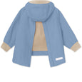 Baby Vito Fleece Anorak - Blue Heaven