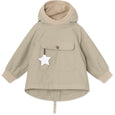 Baby Vito Fleece Anorak - Doeskind Sand