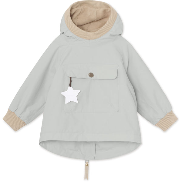 Baby Vito Fleece Anorak - Puritan Grey