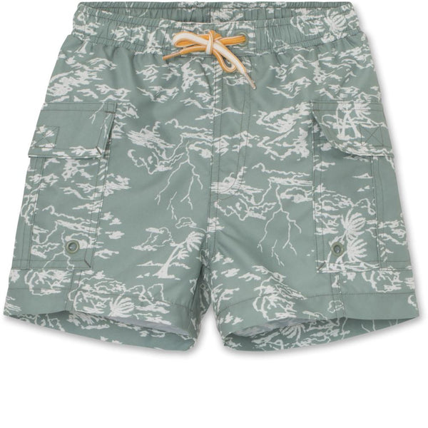 Mateo Swim Shorts UV50 - Green Bay
