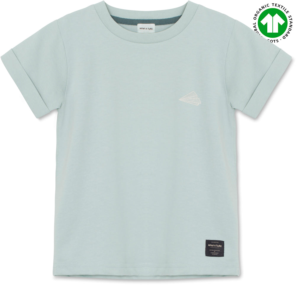 Charley T-shirt GOTS - Cloud Blue