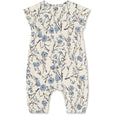 Anouk organic romper - Ashley Blue