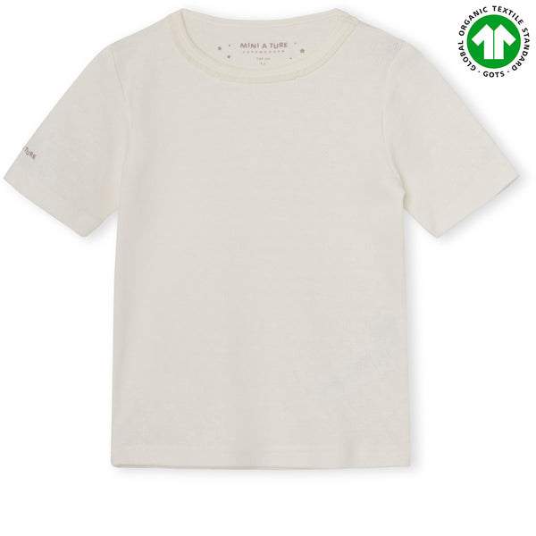 Nona T-shirt GOTS - Off White