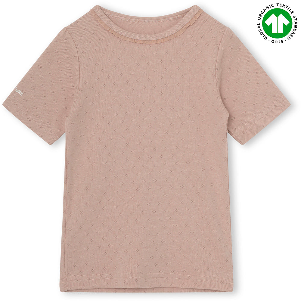 Nona T-shirt organic - Cloudy Rose