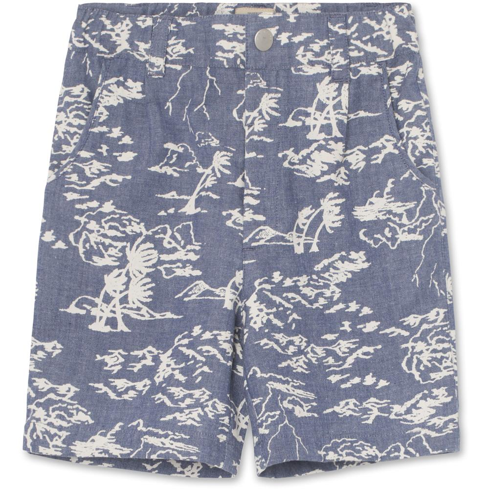 Hugin Shorts - Deep Peacock Blue