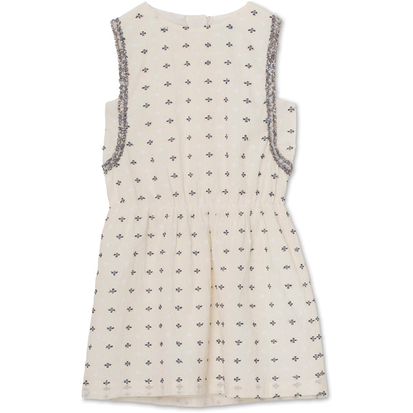 Zelia dress - Cloud Cream