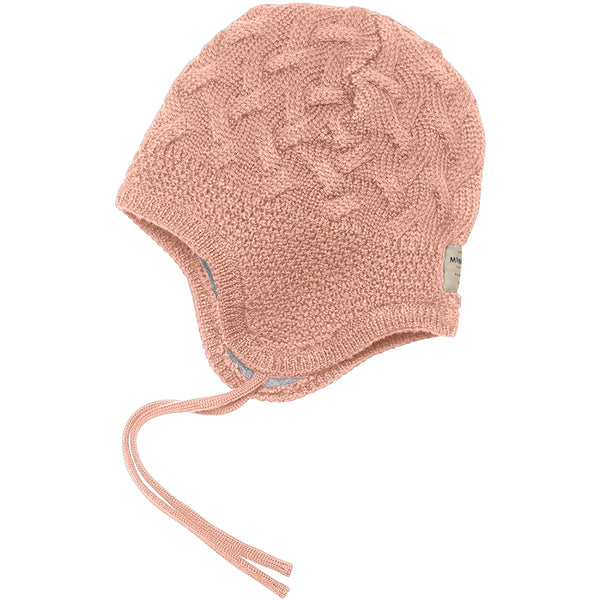 Gill merinowool hood - Cameo Rose Brown