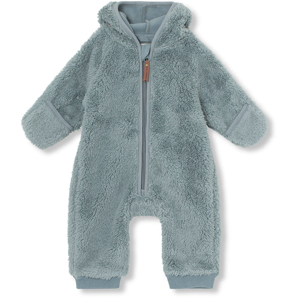 Adel fleece romper - Trooper Blue