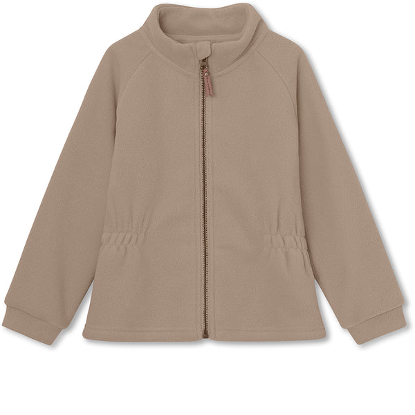 Lola fleece jacket - Taupe Grey