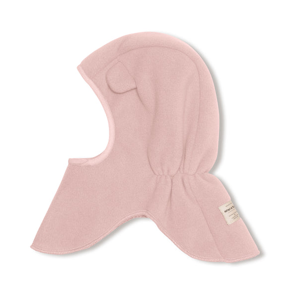 Jeffi soft fleece hood - Pale Mauve