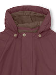 Wally winter jacket - Catawba Grape