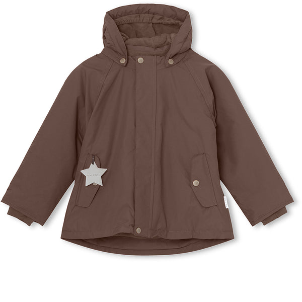 Wally winter jacket - Dark Choco