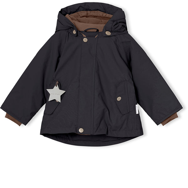 Wally winter jacket - Tap Shoe Black
