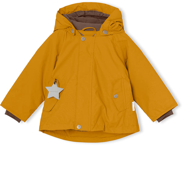 Wally winter jacket - Buckthorn Brown