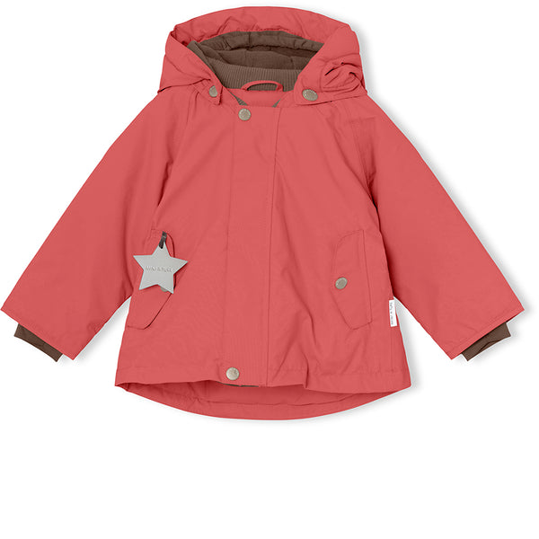 Wally winter jacket - Dusty Cedar Rose