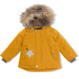Wally fur winter jacket - Buckthorn Brown