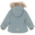 Wally fur winter jacket - Trooper Blue