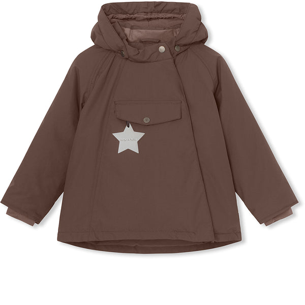 Wang winter jacket - Dark Choco