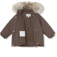 Wang fur winter jacket - Dark Shadow