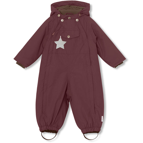 Wisti snowsuit - Catawba Grape