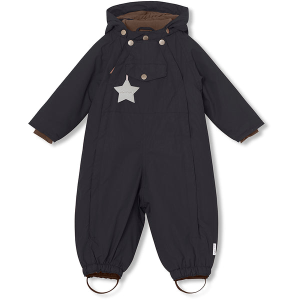 Wisti snowsuit - Tap Shoe Black
