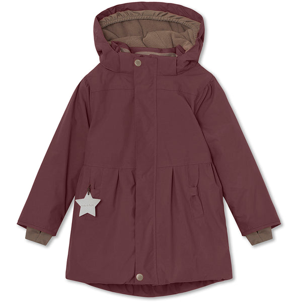 Viola winter jacket - Catawba Grape
