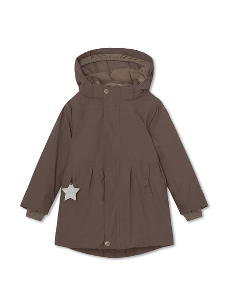 Viola winter jacket - Dark Choco