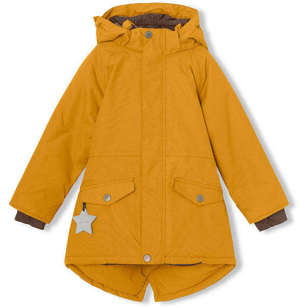 Vibse winter jacket - Buckthorn Brown
