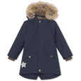 Vibse winter jacket with fur - Blue Nights