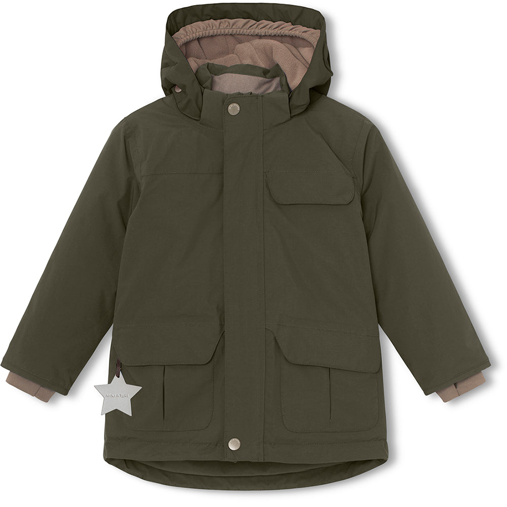 Walder winter jacket - Forest Night
