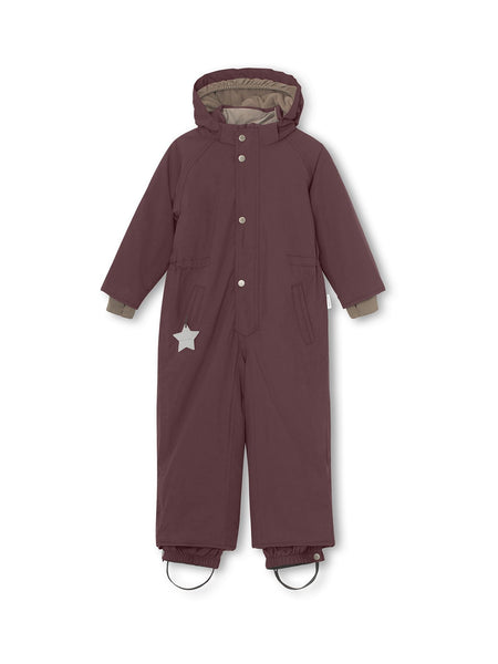 Wanni snowsuit - Catawba Grape