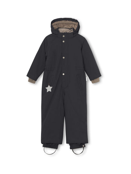 Wanni snowsuit - Tap Shoe Black