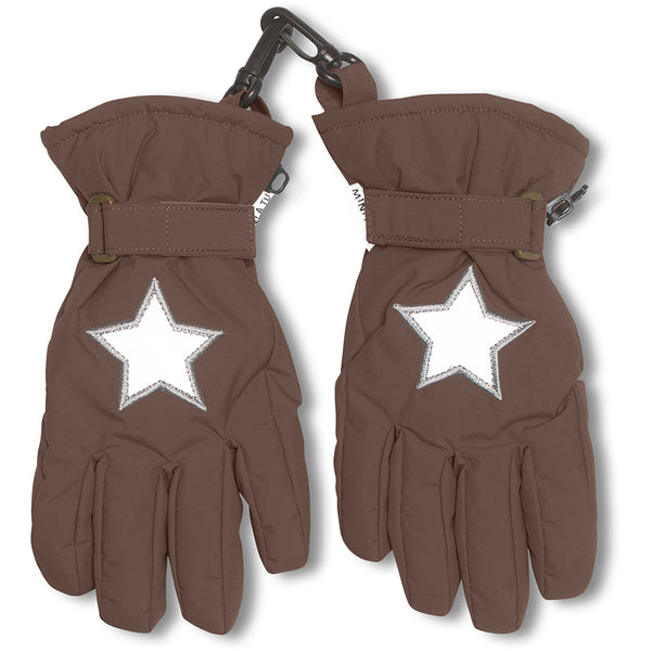 Celio gloves - Dark Choco