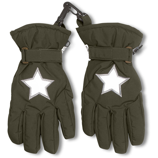 Celio gloves - Forest Night