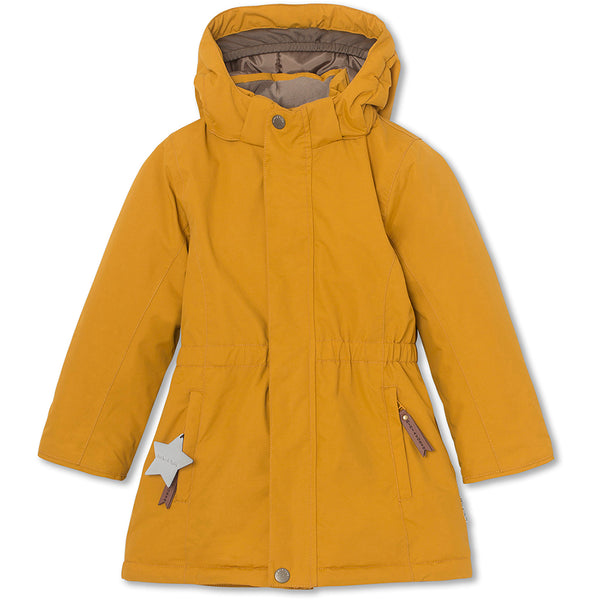 Vela winter jacket - Buckthorn Brown