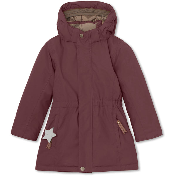 Vela winterjacket - Catawba Grape
