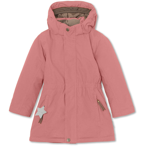 Vela winter jacket - Withered Rose
