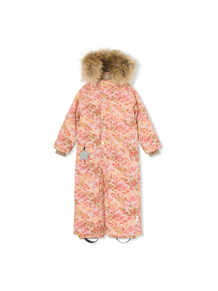 Wanni snowsuit with fur - Pale Mauve