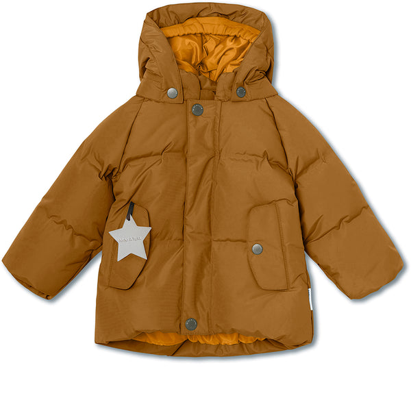 Woody downjacket - Rubber Brown