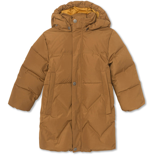 Isabelle down jacket - Rubber Brown