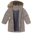 Isabelle fur downjacket - Satellite