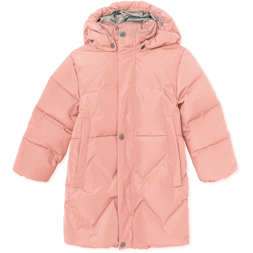 Isabelle down jacket - Cameo Rose Brown