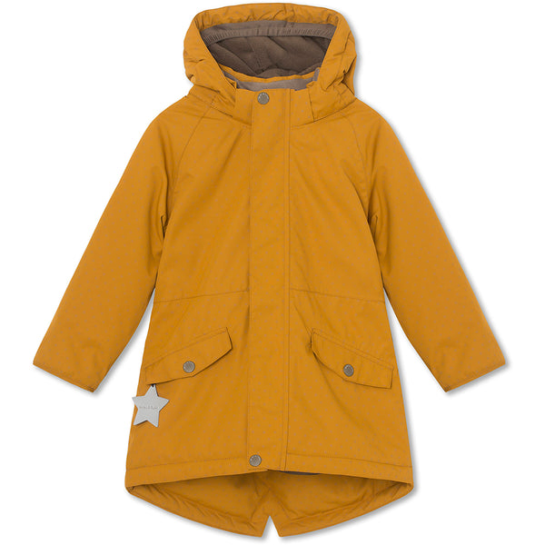 Vibse reflective winter jacket - Buckthorn Brown
