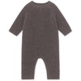 Ania Romper in Wool Blend - Rabbit Plum