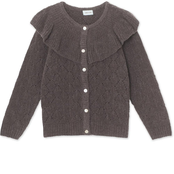 Diann Cardigan - Rabbit Plum