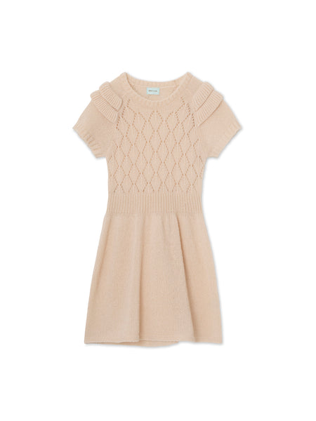Annabella Dress - Sand Dollar