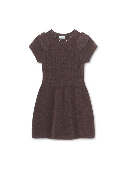 Annabella Dress - Rabbit Plum