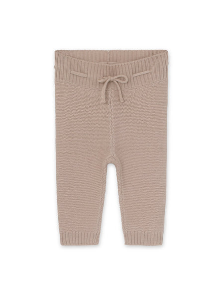 Leslie merinowool pants - Cloudy Rose